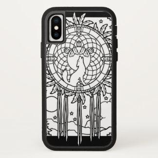 Einsamer Wolf iPhone X Hülle