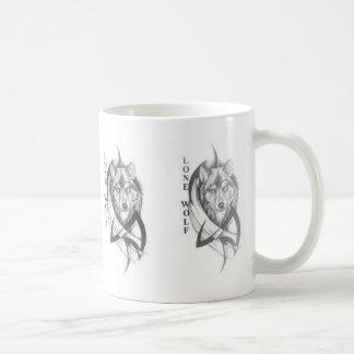 Einsamer Wolf Kaffeetasse