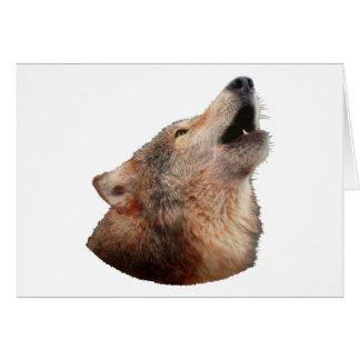 Einsamer Wolf - Multi-Produkte Karte