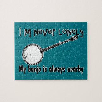 Einsames Banjo Puzzle