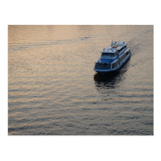 Einsames Boot Postkarten