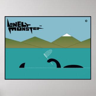Einsames Monster - Sharkhunter Poster