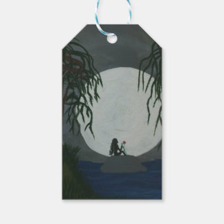 Einsamkeits-Kunst-Druck Geschenkanhänger