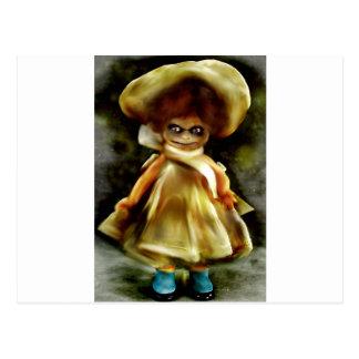Einschüchternde Dora Transportwagen-Produkte Postkarte