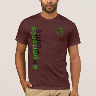 einseitiger Entwurf Münze der Erfahrung Punkt-/XP T-Shirt