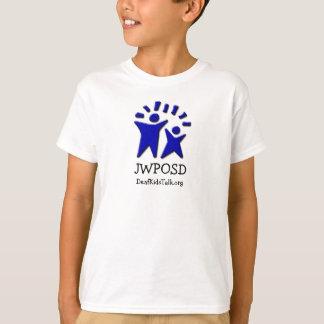 Einseitiges Logo-und Website-Shirt T-Shirt