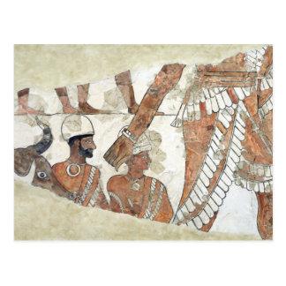 Einsetzung des Königs durch die Göttin Ishtar Postkarte