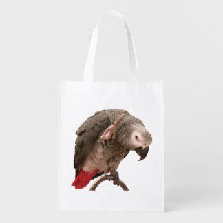 Einstein-Papageien-Wellenartig bewegen Wiederverwendbare Einkaufstasche