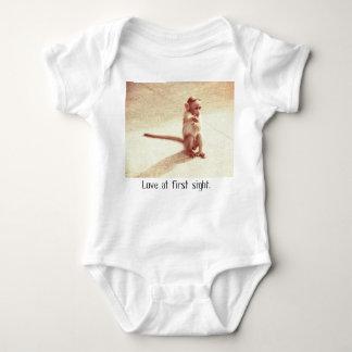 Einteilige Babyausstattung des Affebabys Baby Strampler