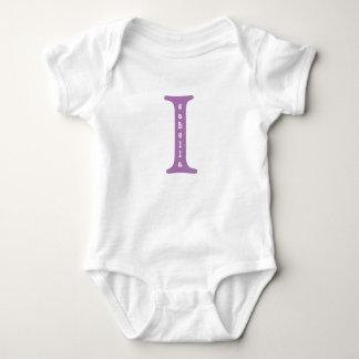 Einteiliges T-Shirt personalisierten Babys
