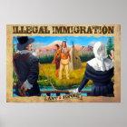 Einwanderungsplakat Poster
