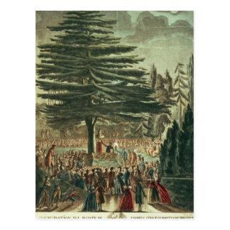Einweihung des Fehlschlags von Karl Linnaeus Postkarte