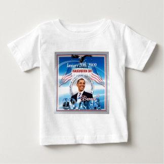 Einweihung von Barack Obama Baby T-shirt