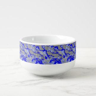 Einzigartige abstrakte Mustermischung 2B Große Suppentasse