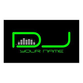Einzigartige DJ-Visitenkarte