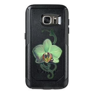 Einzigartige grüne Orchideenart Samsungs-Hüllen OtterBox Samsung Galaxy S7 Hülle