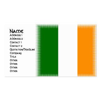 Einzigartige irische visitenkarten