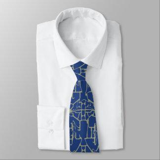 Einzigartige Linie kopiert #1 Bedruckte Krawatte