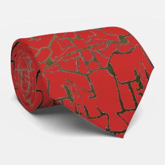 Einzigartige Linie Muster Krawatte