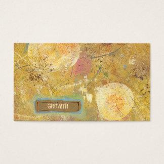 Einzigartige Malerei der schönen natürlichen Kunst Visitenkarten