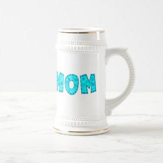 Einzigartige Mutter-Tagesgeschenke Bierglas