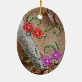 Einzigartige Ojibwe Keramik Ornament