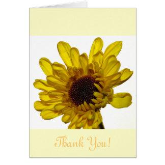 Einzigartige schöne Blume danken Ihnen, speziellen Karte