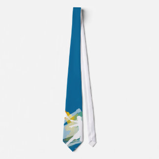 Einzigartige Tennis-Krawatte mit Bedruckte Krawatte