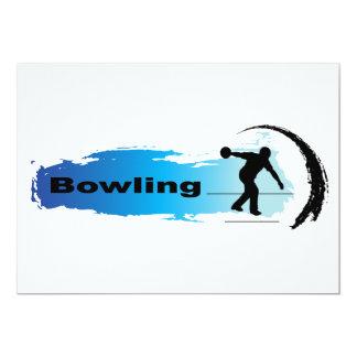 Einzigartiger Bowling Karte