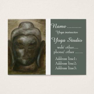 Einzigartiger Buddha-Yogalehrer Visitenkarte