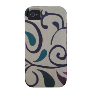 Einzigartiger Case-Mate-Fall Vibe iPhone 4 Cover