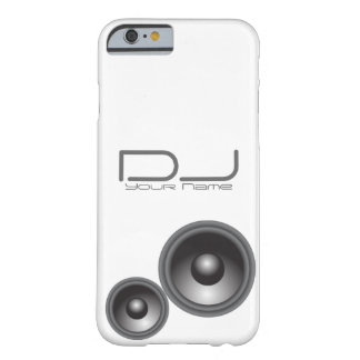 Einzigartiger DJ iPhone 6/6s Fall Barely There iPhone 6 Hülle