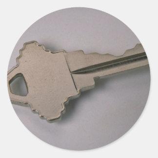 Einzigartiger Hausschlüssel Aufkleber