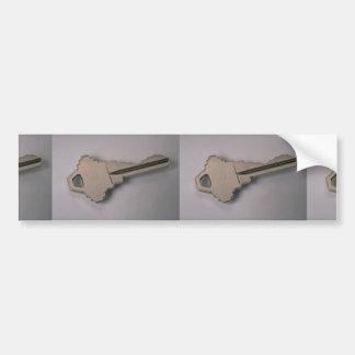 Einzigartiger Hausschlüssel Auto Aufkleber