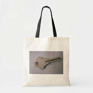 Einzigartiger Hausschlüssel Leinentasche
