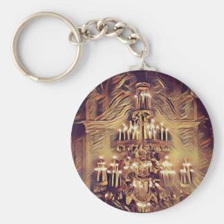 Einzigartiger künstlerischer Vintager beleuchteter Schlüsselanhänger