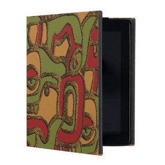 Einzigartiger Mayahieroglyphen-Entwurf iPad Schutzhülle