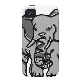 Einzigartiger niedlicher cooler iPhone 4 Fall Vibe iPhone 4 Case