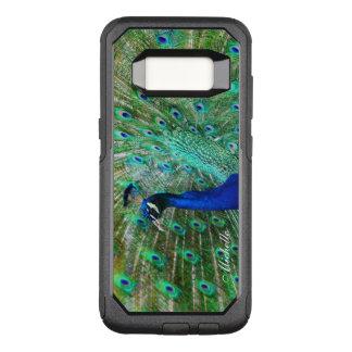 Einzigartiger Pfau-Telefon-Kasten OtterBox Commuter Samsung Galaxy S8 Hülle