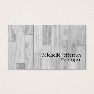 Einzigartiger stilvoller Parkett-Entwurf Visitenkarte