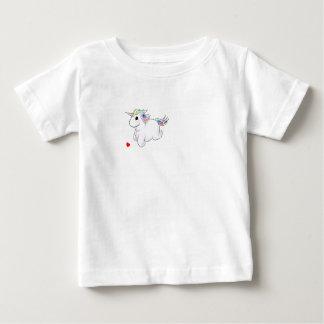 Einzigartiger Unicorn-Baby-Geldstrafe-Jersey-T - Baby T-shirt