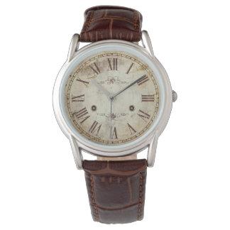Einzigartiges antikes römische Ziffern-Vintages Uhr
