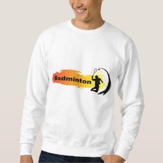 Einzigartiges Badminton Sweatshirt