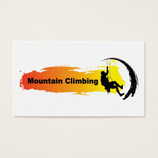 Einzigartiges Bergsteigen Visitenkarte
