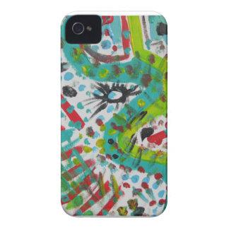 Einzigartiges Geschenk - abstrakter Entwurf auf iPhone 4 Case-Mate Hüllen