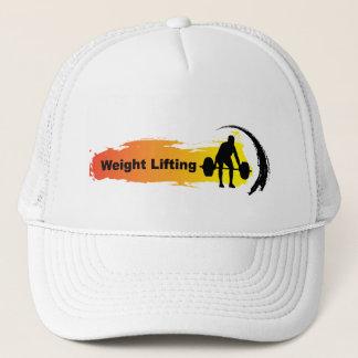 Einzigartiges Gewichts-Anhebenlogo Truckerkappe