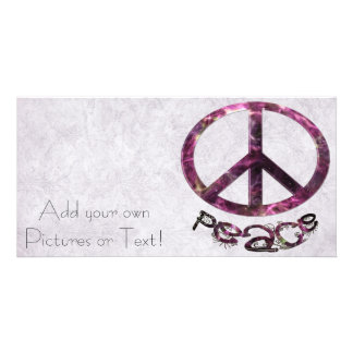 Einzigartiges hübsches Friedenszeichen Bilderkarten