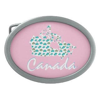 Einzigartiges kanadisches ovale gürtelschnallen