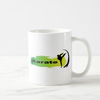Einzigartiges Karate Kaffeetasse