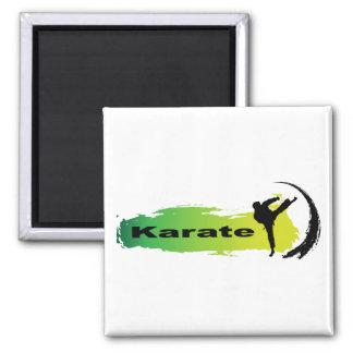 Einzigartiges Karate Quadratischer Magnet